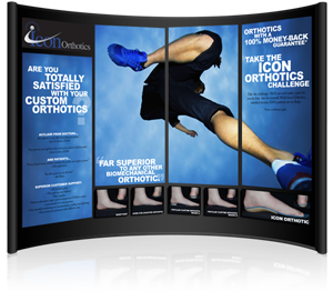Icon Orthotics Trade Show Booth Design