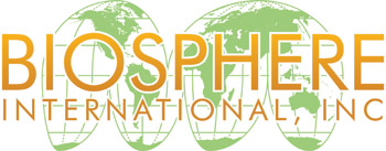 Biosphere International, INC log design